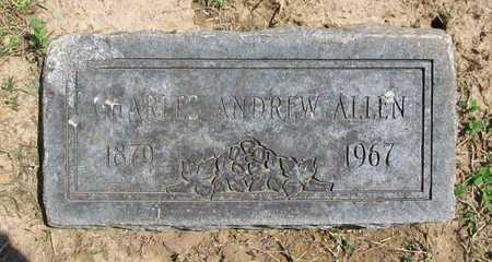 ALLEN, CHARLES ANDREW - Benton County, Arkansas | CHARLES ANDREW ALLEN - Arkansas Gravestone Photos