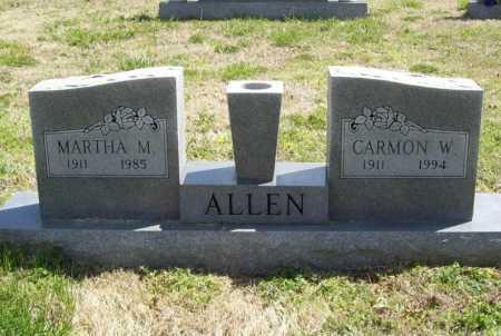 ALLEN, MARTHA M. - Benton County, Arkansas | MARTHA M. ALLEN - Arkansas Gravestone Photos
