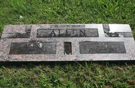 ALLEN, ADA M - Benton County, Arkansas | ADA M ALLEN - Arkansas Gravestone Photos