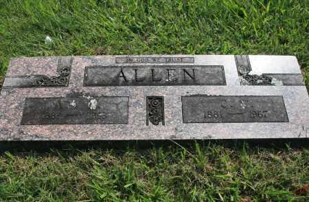 ALLEN, C. W. - Benton County, Arkansas | C. W. ALLEN - Arkansas Gravestone Photos