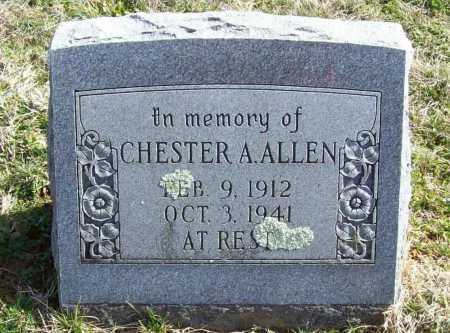 ALLEN, CHESTER A. - Benton County, Arkansas | CHESTER A. ALLEN - Arkansas Gravestone Photos