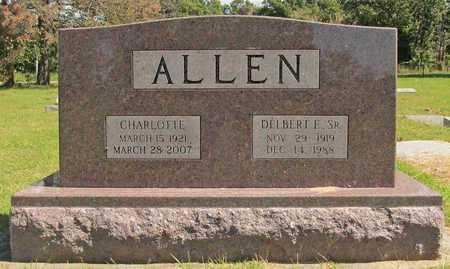 ALLEN, CHARLOTTE DOROTHY - Benton County, Arkansas   CHARLOTTE DOROTHY ALLEN - Arkansas Gravestone Photos