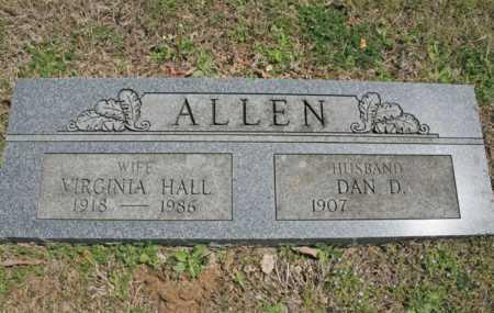 ALLEN, DAN D. - Benton County, Arkansas | DAN D. ALLEN - Arkansas Gravestone Photos