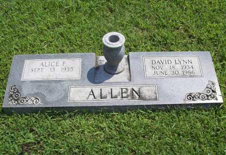 ALLEN, DAVID LYNN - Benton County, Arkansas | DAVID LYNN ALLEN - Arkansas Gravestone Photos