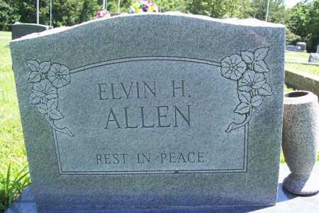 ALLEN, ELVIN H. - Benton County, Arkansas   ELVIN H. ALLEN - Arkansas Gravestone Photos