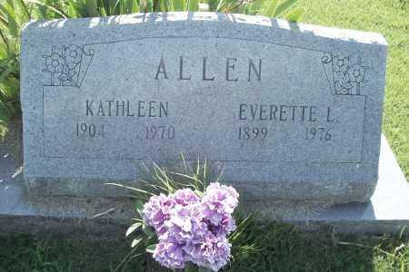 ALLEN, KATHLEEN - Benton County, Arkansas | KATHLEEN ALLEN - Arkansas Gravestone Photos