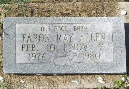 ALLEN, FARON RAY - Benton County, Arkansas | FARON RAY ALLEN - Arkansas Gravestone Photos