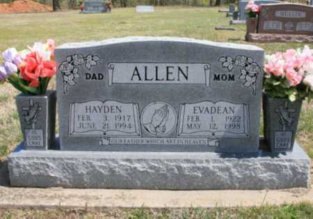 ALLEN, EVADEAN - Benton County, Arkansas | EVADEAN ALLEN - Arkansas Gravestone Photos