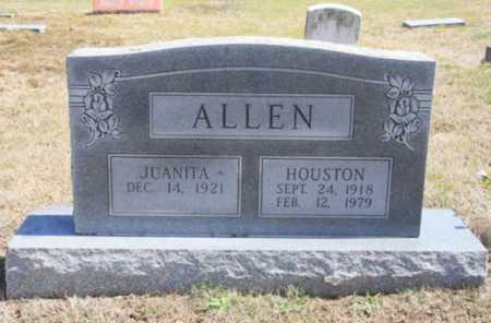 ALLEN, HOUSTON - Benton County, Arkansas | HOUSTON ALLEN - Arkansas Gravestone Photos