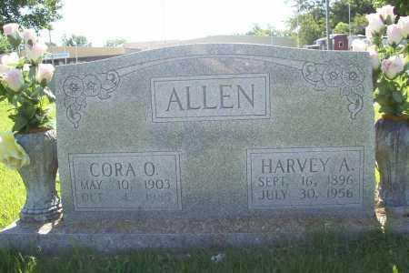 ALLEN, CORA O. - Benton County, Arkansas | CORA O. ALLEN - Arkansas Gravestone Photos