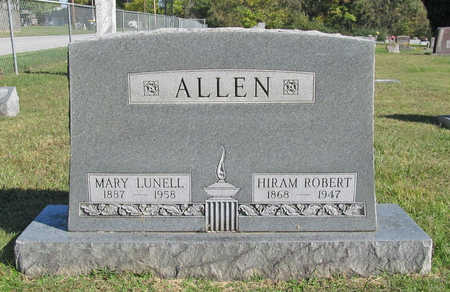 ALLEN, MARY LUNELL - Benton County, Arkansas | MARY LUNELL ALLEN - Arkansas Gravestone Photos