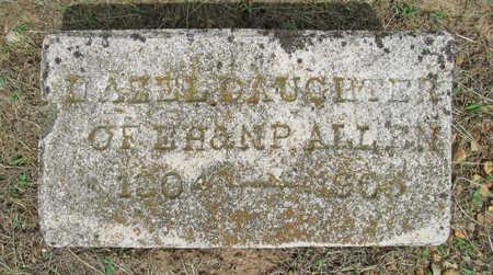 ALLEN, HAZEL - Benton County, Arkansas   HAZEL ALLEN - Arkansas Gravestone Photos