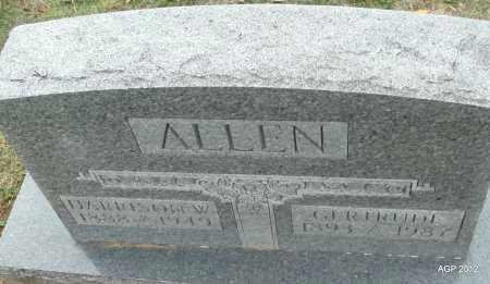 ALLEN, HARRISON W. - Benton County, Arkansas | HARRISON W. ALLEN - Arkansas Gravestone Photos