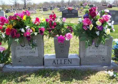 ELLIS ALLEN, BLANCHE MAE - Benton County, Arkansas | BLANCHE MAE ELLIS ALLEN - Arkansas Gravestone Photos