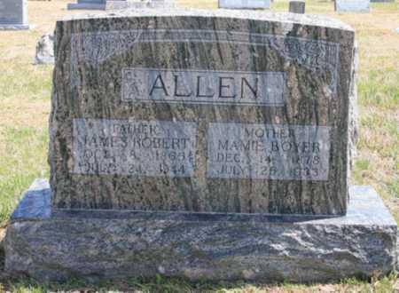 ALLEN, JAMES ROBERT - Benton County, Arkansas | JAMES ROBERT ALLEN - Arkansas Gravestone Photos