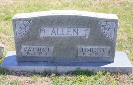 ALLEN, MARTHA I. - Benton County, Arkansas | MARTHA I. ALLEN - Arkansas Gravestone Photos