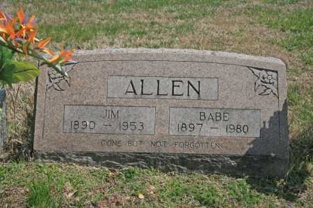 ALLEN, BABE - Benton County, Arkansas | BABE ALLEN - Arkansas Gravestone Photos
