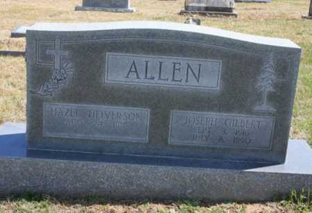 ALLEN, JOSEPH GILBERT - Benton County, Arkansas   JOSEPH GILBERT ALLEN - Arkansas Gravestone Photos