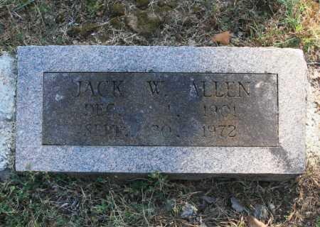 ALLEN, JACK W. - Benton County, Arkansas | JACK W. ALLEN - Arkansas Gravestone Photos