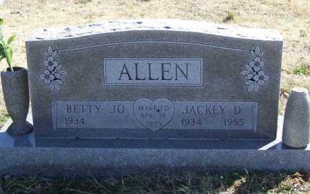 ALLEN, JACKEY D. - Benton County, Arkansas   JACKEY D. ALLEN - Arkansas Gravestone Photos