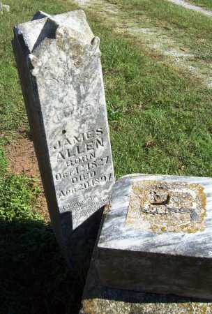 ALLEN (VETERAN CSA POW), JAMES - Benton County, Arkansas | JAMES ALLEN (VETERAN CSA POW) - Arkansas Gravestone Photos