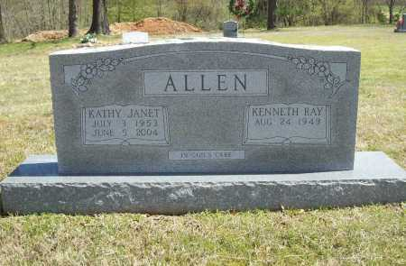 ALLEN, KATHY JANET - Benton County, Arkansas   KATHY JANET ALLEN - Arkansas Gravestone Photos