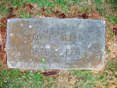 ALLEN, LOY C. - Benton County, Arkansas   LOY C. ALLEN - Arkansas Gravestone Photos