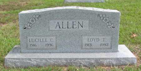 ALLEN, LUCILLE C. - Benton County, Arkansas | LUCILLE C. ALLEN - Arkansas Gravestone Photos