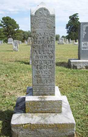 ALLEN, LIDA ALICE - Benton County, Arkansas | LIDA ALICE ALLEN - Arkansas Gravestone Photos