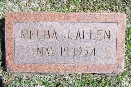 ALLEN, MELBA J. - Benton County, Arkansas | MELBA J. ALLEN - Arkansas Gravestone Photos