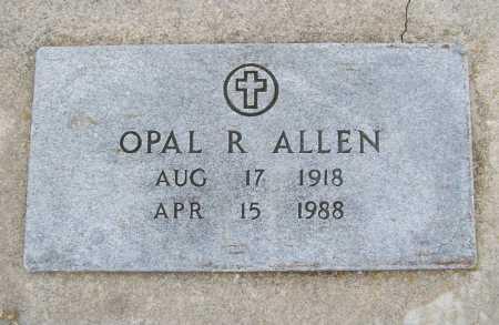 ALLEN, OPAL R. - Benton County, Arkansas | OPAL R. ALLEN - Arkansas Gravestone Photos