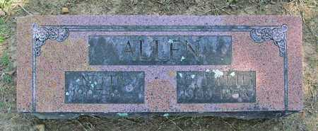 ALLEN, NETTIE - Benton County, Arkansas | NETTIE ALLEN - Arkansas Gravestone Photos