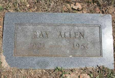ALLEN, RAY - Benton County, Arkansas   RAY ALLEN - Arkansas Gravestone Photos