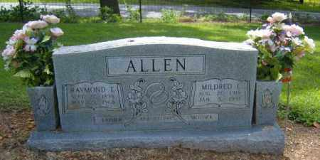 ALLEN, MILDRED INEZ - Benton County, Arkansas | MILDRED INEZ ALLEN - Arkansas Gravestone Photos