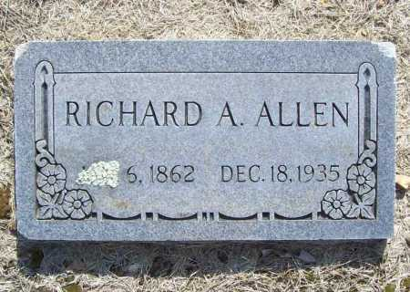 ALLEN, RICHARD A. - Benton County, Arkansas | RICHARD A. ALLEN - Arkansas Gravestone Photos