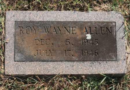 ALLEN, ROY WAYNE - Benton County, Arkansas | ROY WAYNE ALLEN - Arkansas Gravestone Photos