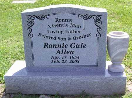 ALLEN, RONNIE GALE - Benton County, Arkansas | RONNIE GALE ALLEN - Arkansas Gravestone Photos