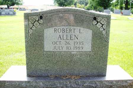 ALLEN, ROBERT L. - Benton County, Arkansas   ROBERT L. ALLEN - Arkansas Gravestone Photos