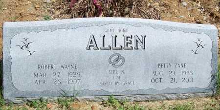 ALLEN, ROBERT WAYNE - Benton County, Arkansas   ROBERT WAYNE ALLEN - Arkansas Gravestone Photos