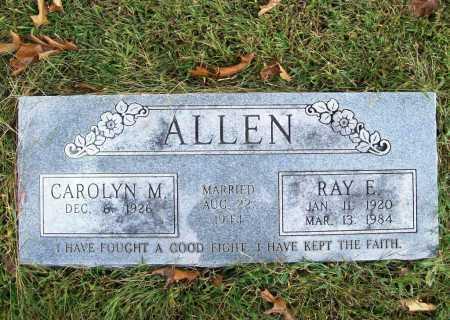 ALLEN, RAY E - Benton County, Arkansas   RAY E ALLEN - Arkansas Gravestone Photos