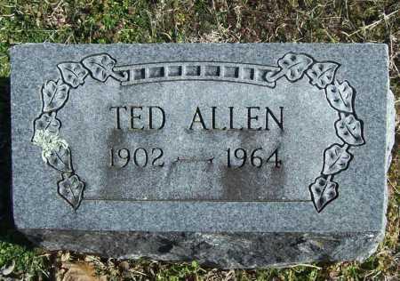 ALLEN, TED - Benton County, Arkansas | TED ALLEN - Arkansas Gravestone Photos