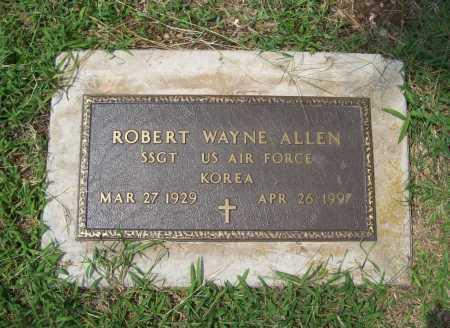 ALLEN (VETERAN KOR), ROBERT WAYNE - Benton County, Arkansas | ROBERT WAYNE ALLEN (VETERAN KOR) - Arkansas Gravestone Photos