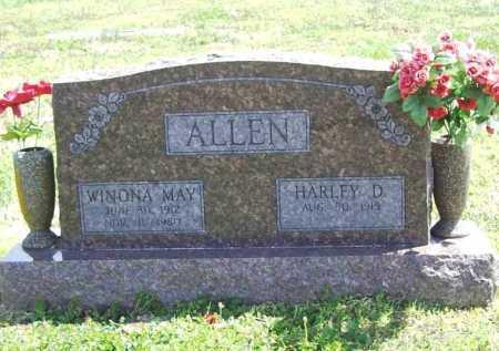ALLEN, WINONA MAY - Benton County, Arkansas | WINONA MAY ALLEN - Arkansas Gravestone Photos
