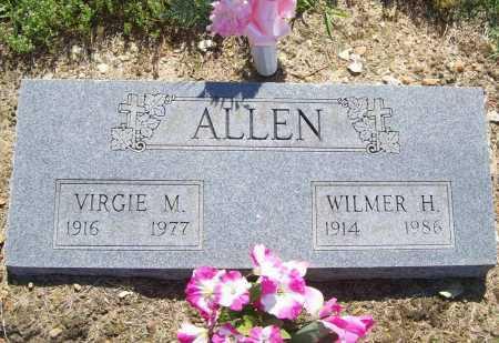 ALLEN, VIRGIE - Benton County, Arkansas   VIRGIE ALLEN - Arkansas Gravestone Photos