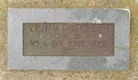 ALLEN, WILLIAM DEAN - Benton County, Arkansas   WILLIAM DEAN ALLEN - Arkansas Gravestone Photos