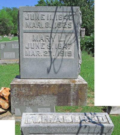 ALLRED, MARY L - Benton County, Arkansas   MARY L ALLRED - Arkansas Gravestone Photos