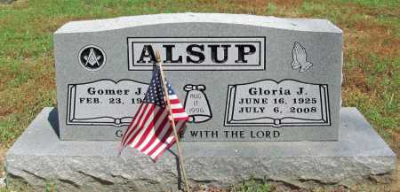 ALSUP, GLORIA J. - Benton County, Arkansas | GLORIA J. ALSUP - Arkansas Gravestone Photos