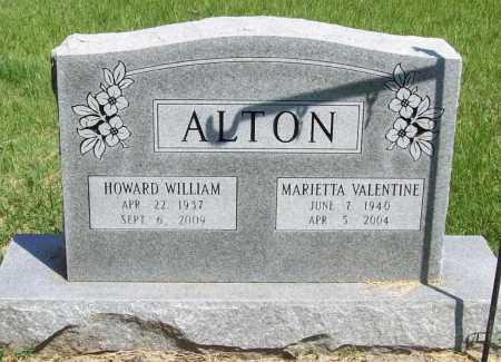 ALTON, MARIETTA - Benton County, Arkansas   MARIETTA ALTON - Arkansas Gravestone Photos