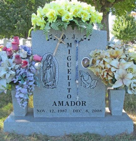 AMADOR, MIGUELITO - Benton County, Arkansas   MIGUELITO AMADOR - Arkansas Gravestone Photos