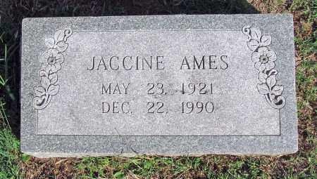AMES, JACCINE - Benton County, Arkansas   JACCINE AMES - Arkansas Gravestone Photos